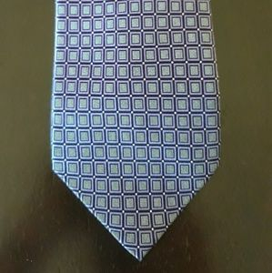 Croft & Barrow mens handmade silk tie